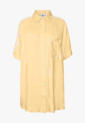 DRESS - Shirt dress - easy yellow