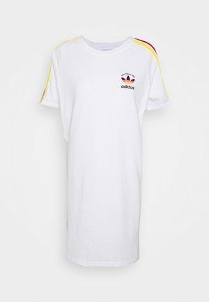 STRIPES SPORTS INSPIRED DRESS - Vestido ligero - white/multicolor