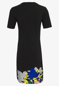 adidas Originals - TEE DRESS - Jersey dress - black - 1