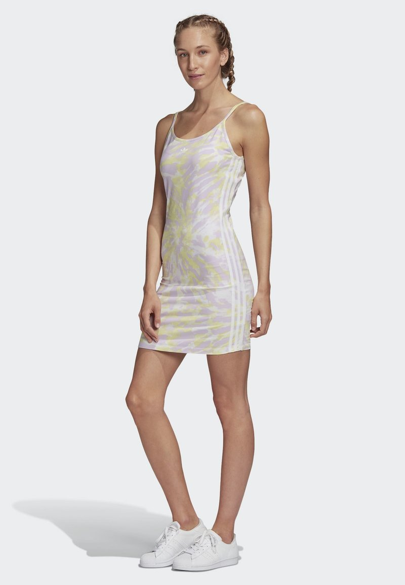 adidas Originals - TANK DRESS - Shift dress - multicolour
