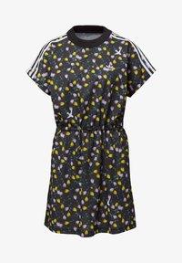 adidas Originals - ALLOVER PRINT TEE DRESS - Jersey dress - multicolour - 7