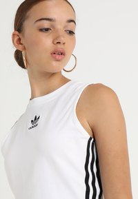 adidas Originals - CROP TANK - Top - white - 4