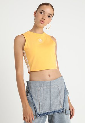 CROP TANK - Top - chalk orange