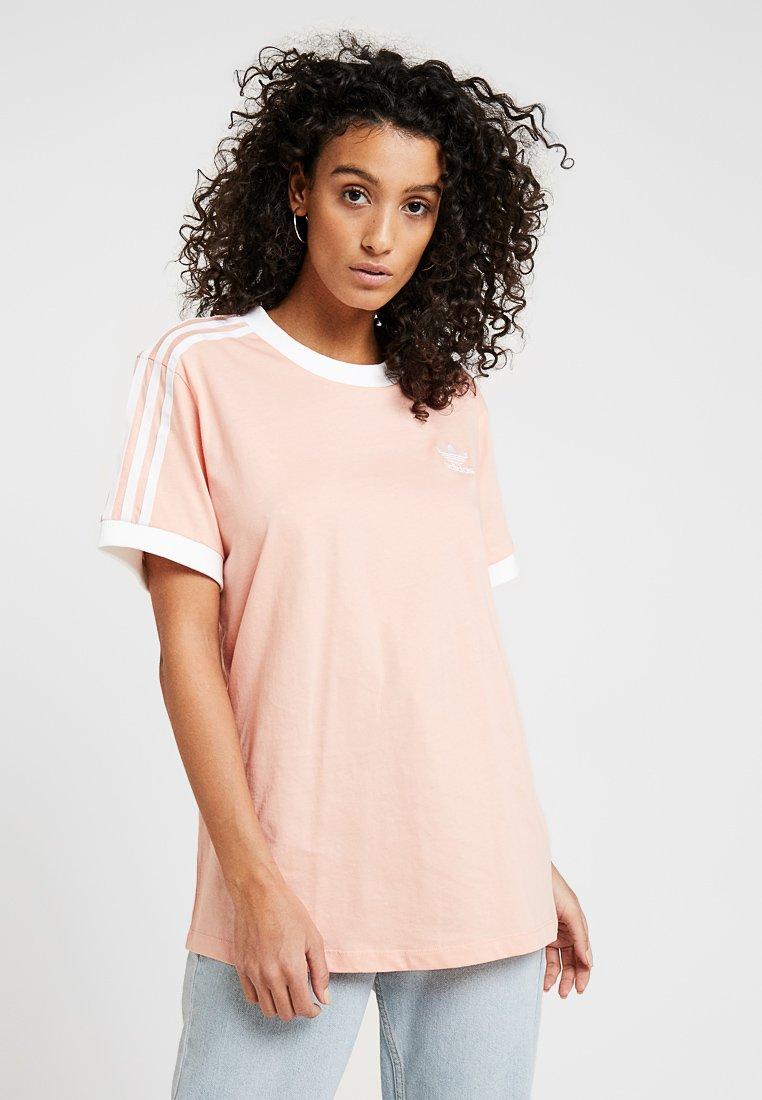 adidas Originals - STRIPES TEE - T-shirt print - dust pink