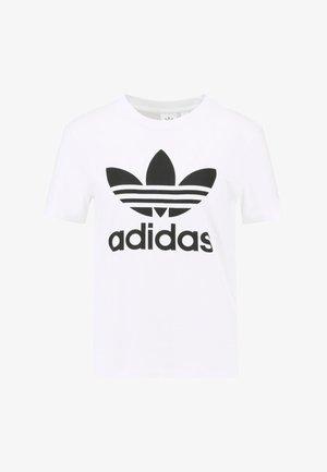 ADICOLOR TREFOIL GRAPHIC TEE - T-shirt con stampa - white
