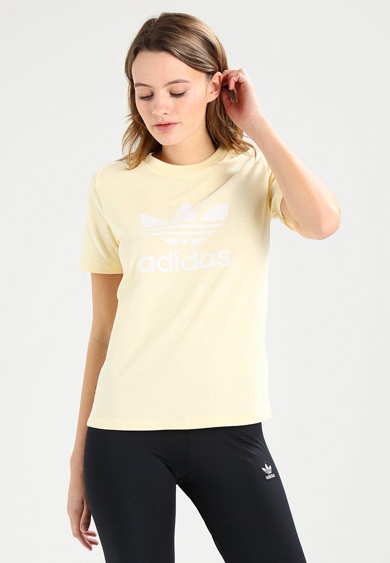 adidas Originals - TREFOIL TEE - T-Shirt print - mist sun