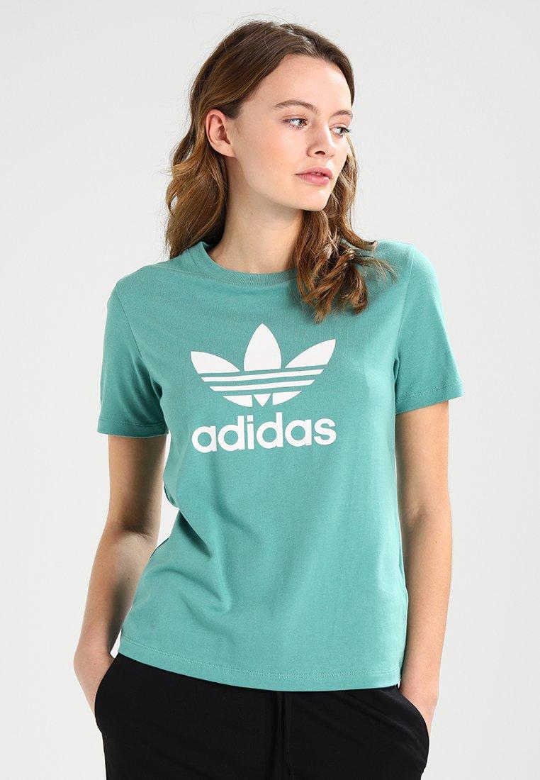 adidas Originals - TREFOIL TEE - T-Shirt print - future hydro