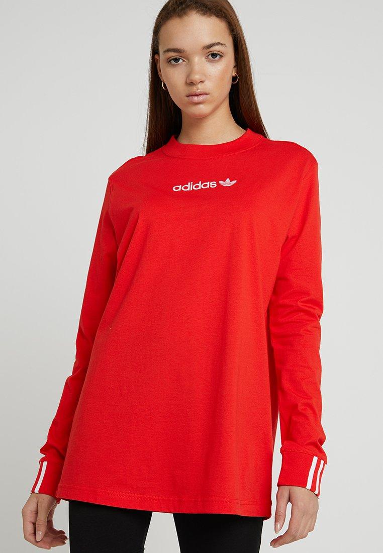 adidas Originals - COEEZE - Langarmshirt - active red