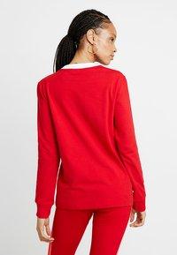 adidas Originals - ADICOLOR 3 STRIPES LONGSLEEVE TEE - Långärmad tröja - scarlet - 2