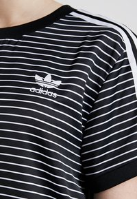adidas Originals - STRIPES TEE - Blůza - black/white - 5