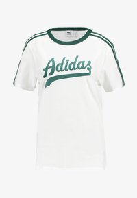 adidas Originals - REGULAR TEE - Triko s potiskem - white - 5