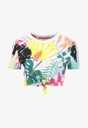 CROPPED TEE - T-shirt print - multicolor