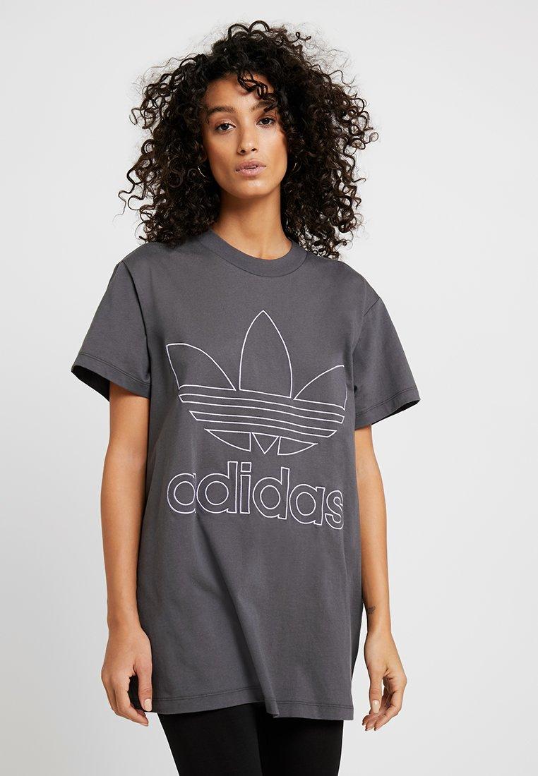 adidas Originals - BOYFRIEND  - Triko spotiskem - grey six