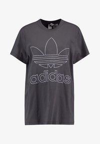 adidas Originals - BOYFRIEND  - Triko spotiskem - grey six - 3