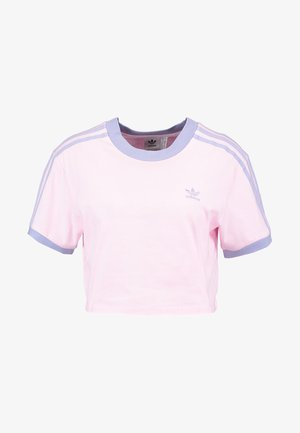 CROPPED TEE - T-shirt imprimé - clear pink