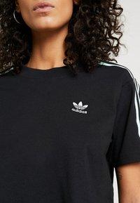 adidas Originals - CROPPED TEE - T-Shirt print - black - 4