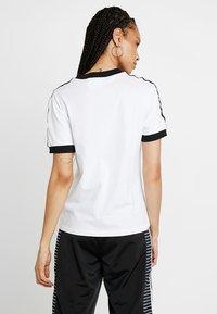 adidas Originals - 3 STRIPES TEE - T-shirt basic - white - 2