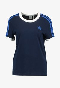 adidas Originals - STRIPES TEE - T-shirt print - collegiate navy - 4