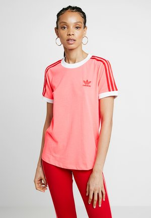 TEE - T-shirt med print - flash red