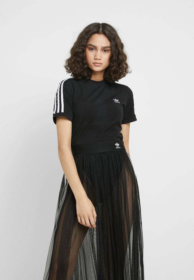 adidas Originals - BODY - T-shirt print - black