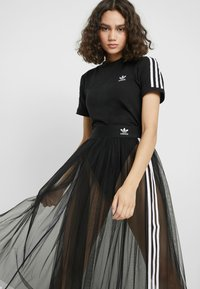 adidas Originals - BODY - T-shirt z nadrukiem - black - 3