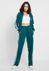 adidas Originals - ADICOLOR 3 STRIPES CROPPED TANK - Débardeur - white - 1