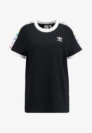 PRIDE TEE - T-shirt imprimé - black/white