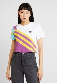 adidas Originals - TEE - T-Shirt print - white - 0