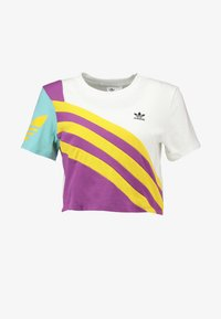 adidas Originals - TEE - T-Shirt print - white - 4