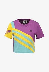adidas Originals - TEE - T-shirt imprimé - rich mauve - 3