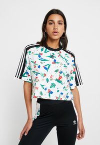 adidas Originals - CROPPED TEE - T-shirt con stampa - multicolor - 0