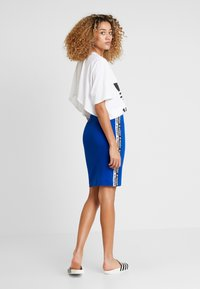 adidas Originals - CUT OUT TEE - T-shirt imprimé - white - 2