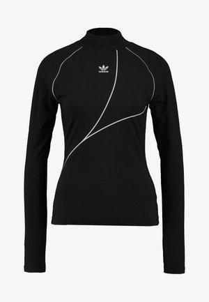 TREFOIL LONGSLEEVE TEE - Pitkähihainen paita - black
