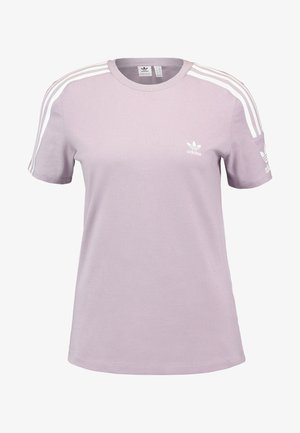 ADICOLOR 3 STRIPES TEE - T-Shirt print - soft vision