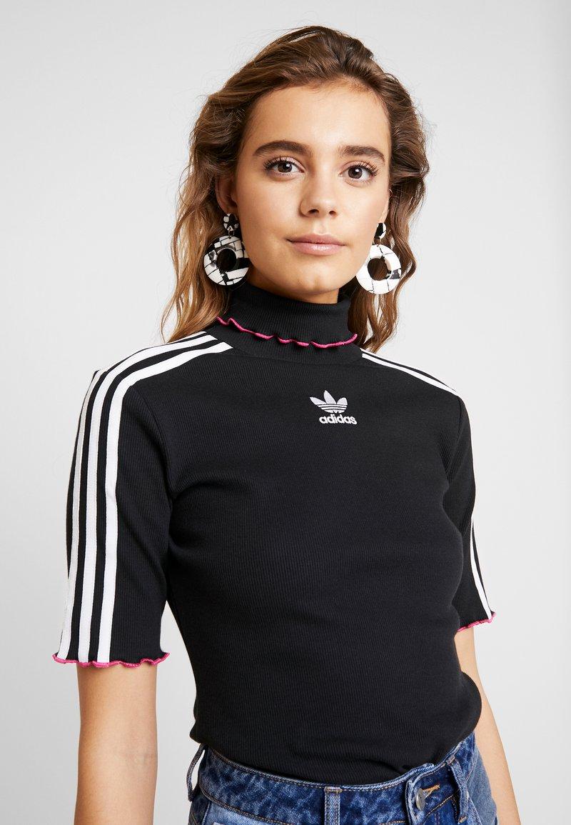adidas Originals - TEE - T-shirt med print - black