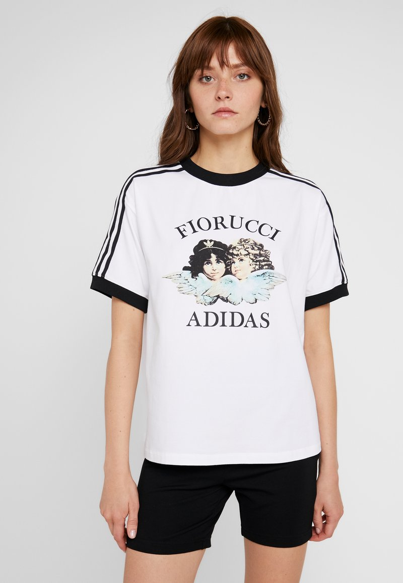 adidas Originals - T-shirt con stampa - white