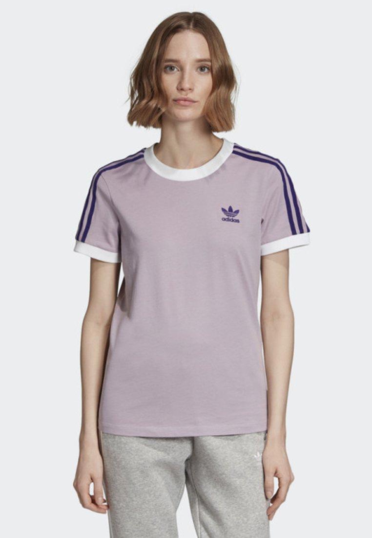 adidas Originals - STRIPES T-SHIRT - T-shirts med print - purple