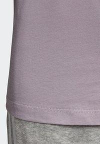 adidas Originals - STRIPES T-SHIRT - T-shirts med print - purple - 6