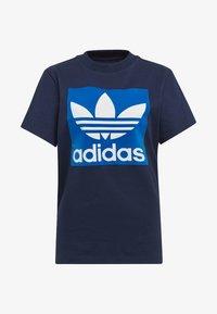 adidas Originals - BOYFRIEND LONG-SLEEVE TOP - T-shirts med print - blue - 7