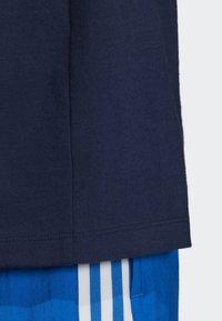 adidas Originals - BOYFRIEND LONG-SLEEVE TOP - T-shirts med print - blue - 4