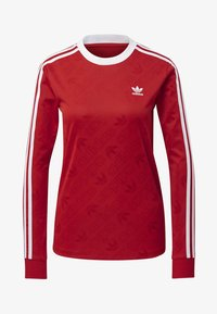 adidas Originals - 3-STRIPES LONG-SLEEVE TOP - Langarmshirt - red - 4