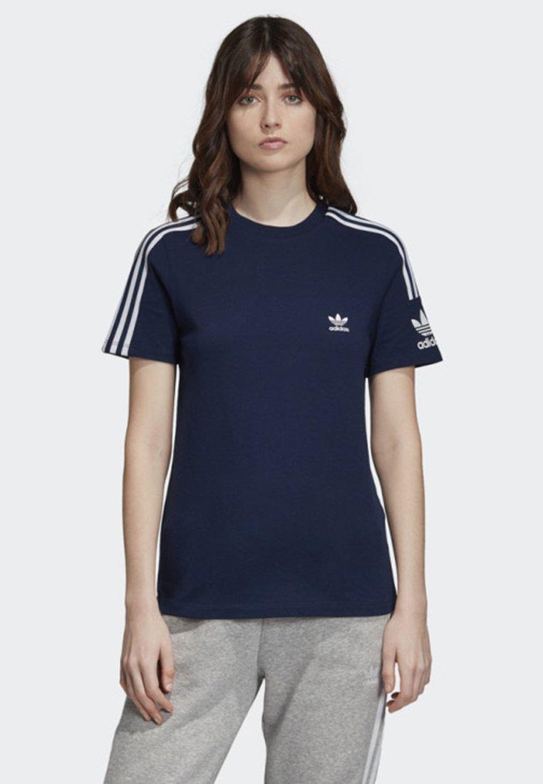 adidas Originals - 3-STRIPES T-SHIRT - T-shirts print - blue