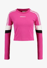 adidas Originals - CROPPED - T-shirt à manches longues - real magenta - 4