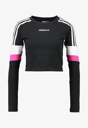 CROPPED - Maglietta a manica lunga - black