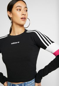 adidas Originals - CROPPED - Camiseta de manga larga - black - 5