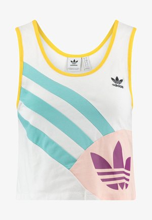 Cropped Tank Top - Top - white