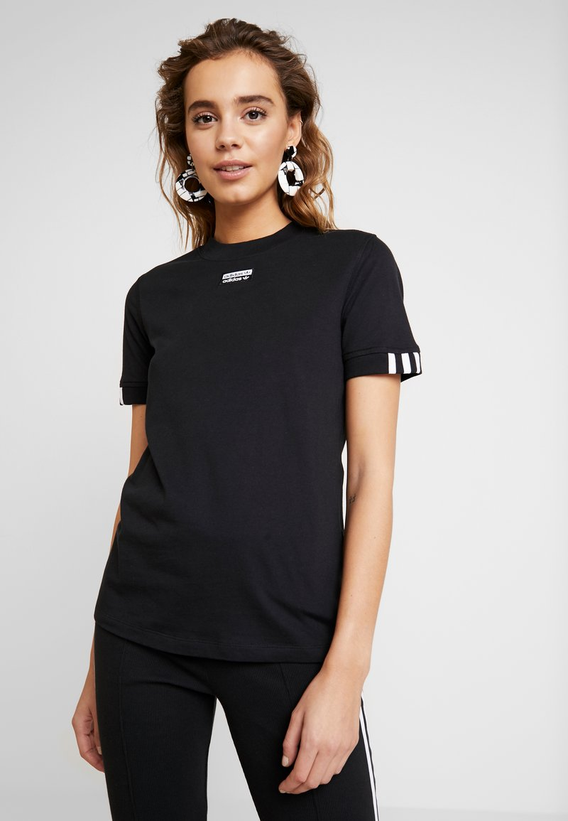 adidas Originals - TEE - T-shirt con stampa - black