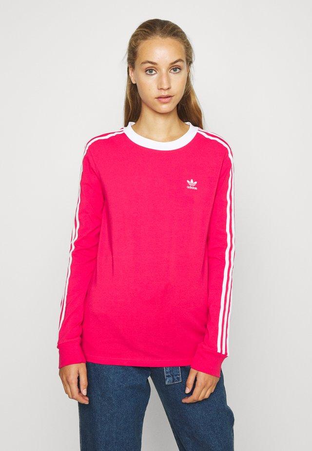 Bluzka z długim rękawem - power pink/white