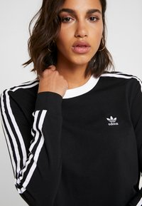 adidas Originals - T-shirt à manches longues - black/white - 6