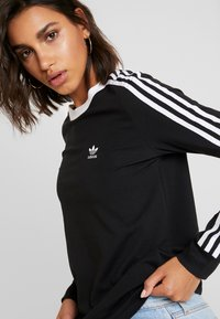 adidas Originals - T-shirt à manches longues - black/white - 3